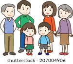 family | Shutterstock .eps vector #207004906