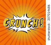 Crunch    Comic Speech Bubbles...
