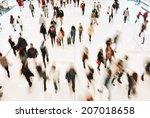 rush hour | Shutterstock . vector #207018658