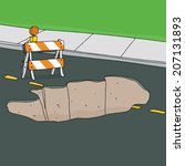 Reflective Traffic Barricade In ...