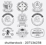 vector badges for any use | Shutterstock .eps vector #207136258