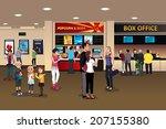 a vector illustration of scene... | Shutterstock .eps vector #207155380