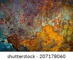 the core of corrosion | Shutterstock . vector #207178060