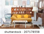 classic vintage style furniture ... | Shutterstock . vector #207178558