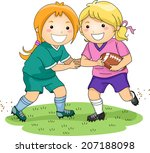illustration featuring a pair... | Shutterstock .eps vector #207188098