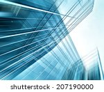 panoramic and perspective wide... | Shutterstock . vector #207190000