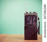 Retro Portable Radio Receiver...