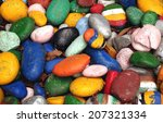 these large round pebbles... | Shutterstock . vector #207321334
