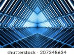 metal structure similar to... | Shutterstock . vector #207348634