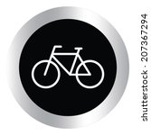cycling design over white... | Shutterstock .eps vector #207367294
