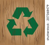 recycling signs. | Shutterstock .eps vector #207368479