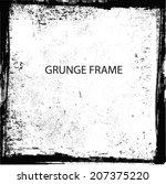 abstract grunge frame. vector...   Shutterstock .eps vector #207375220