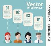 people communications flat... | Shutterstock .eps vector #207382120