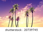 beautiful sunset | Shutterstock . vector #20739745
