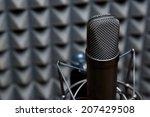 studio microphone  recording... | Shutterstock . vector #207429508