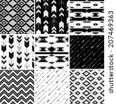 seamless geometric pattern in... | Shutterstock .eps vector #207469363