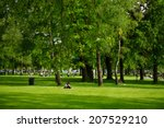 Park and recreation area in the ...