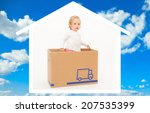 home related pictures as symbol ... | Shutterstock . vector #207535399