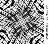grunge seamless pattern texture.... | Shutterstock .eps vector #207583444