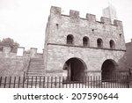 roman fort  castlegate ...   Shutterstock . vector #207590644
