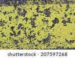 surface of a road surface with... | Shutterstock . vector #207597268