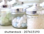 an image of bathroom goods | Shutterstock . vector #207615193