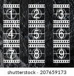 Film Strip Illustration Sound...