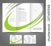 Brochure Design Template Folde...