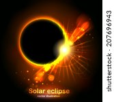Solar Eclipse. Radiance And...