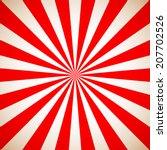Sunburst Retro Red Pattern....