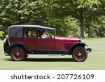 plymouth   july 27  a vintage... | Shutterstock . vector #207726109