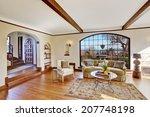 soft ivory bright living room... | Shutterstock . vector #207748198