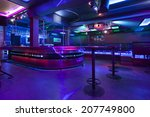 Interior Of A Empty Nightclub