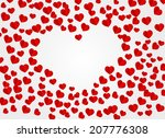 romantic background. vector eps ... | Shutterstock .eps vector #207776308