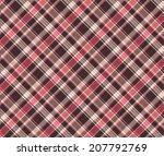 seamless tartan pattern | Shutterstock .eps vector #207792769