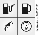 gus pump icons | Shutterstock .eps vector #207795979