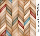 color abstract retro  striped... | Shutterstock . vector #207803014