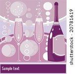 vector illustration of bottle... | Shutterstock .eps vector #20781619
