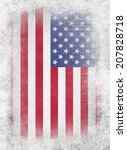 usa flag | Shutterstock . vector #207828718