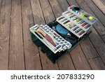 A Large Fishermans Tackle Box...