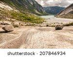 nigardsbrevatnet at the...   Shutterstock . vector #207846934