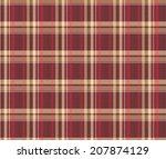 seamless tartan pattern | Shutterstock .eps vector #207874129
