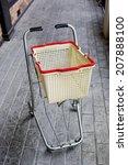 shopping grocery cart | Shutterstock . vector #207888100