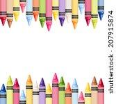 horizontal seamless background... | Shutterstock .eps vector #207915874