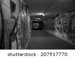 subway graffiti wall  | Shutterstock . vector #207917770