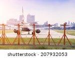 Commercial Airplane Preparing...