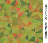 triangles pattern. abstract... | Shutterstock . vector #207940930