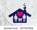 People Family Pictogram On...