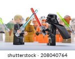 Постер, плакат: Lego Star Wars Darth
