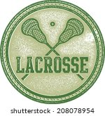 background,classic,college,crest,crossed,distressed,grunge,high,icon,lacrosse,lax,league,retro,rubber,school